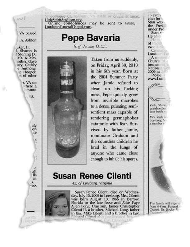 Pepe Bavaria Obituary